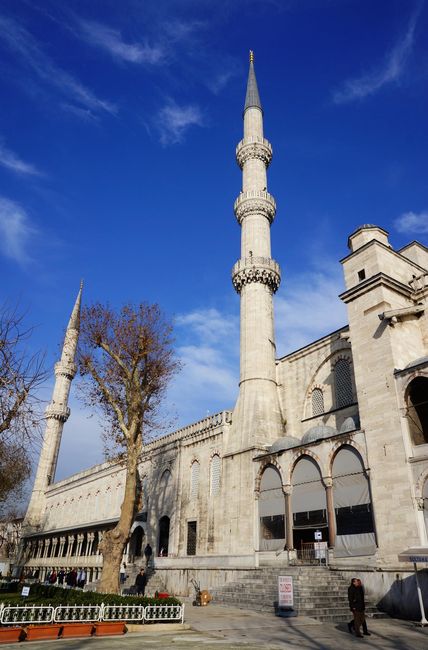 minarets mosquée bleue