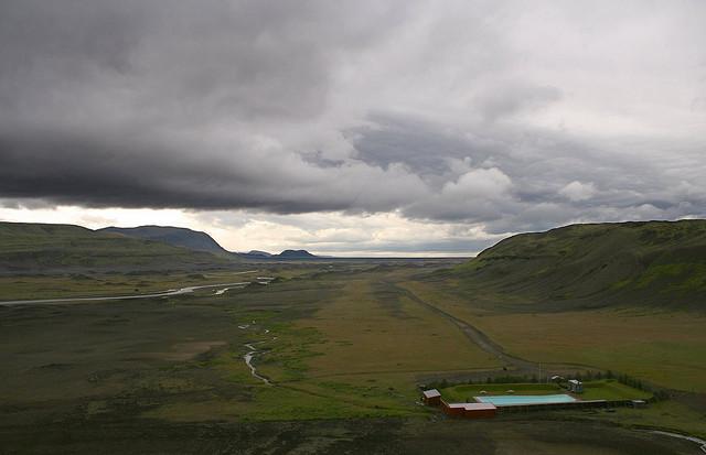 piscine bout du monde islande